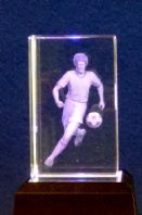 Football - Star Crystal Laser Blocks